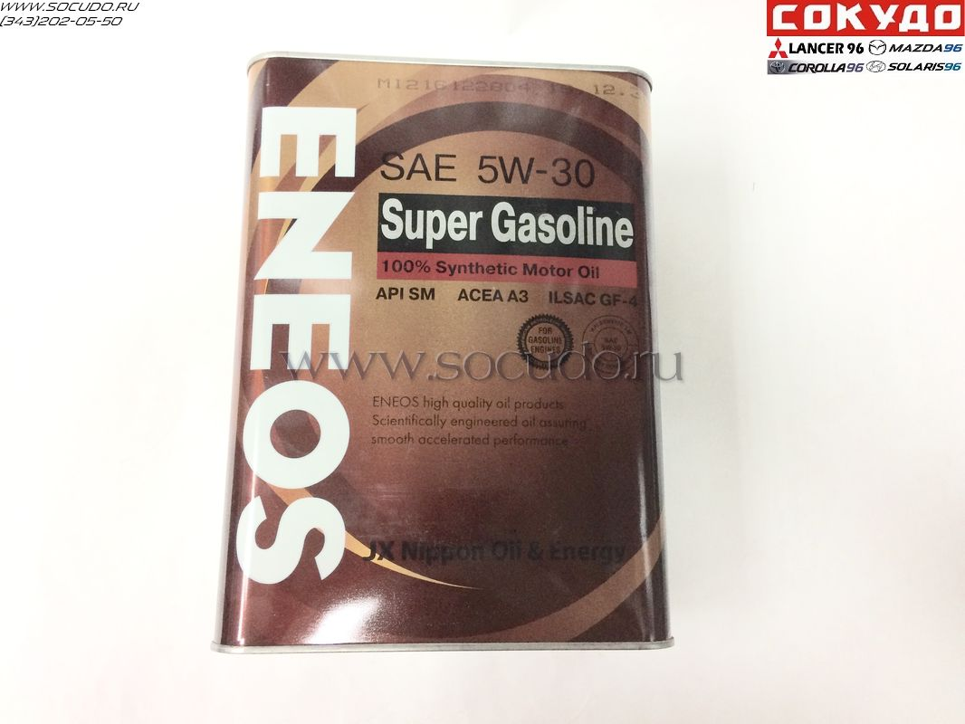 Eneos Super Gasoline Synthetic 5W30 4L
